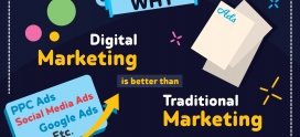 Reasons why Digital Marketing is better than Traditional Marketing 2019