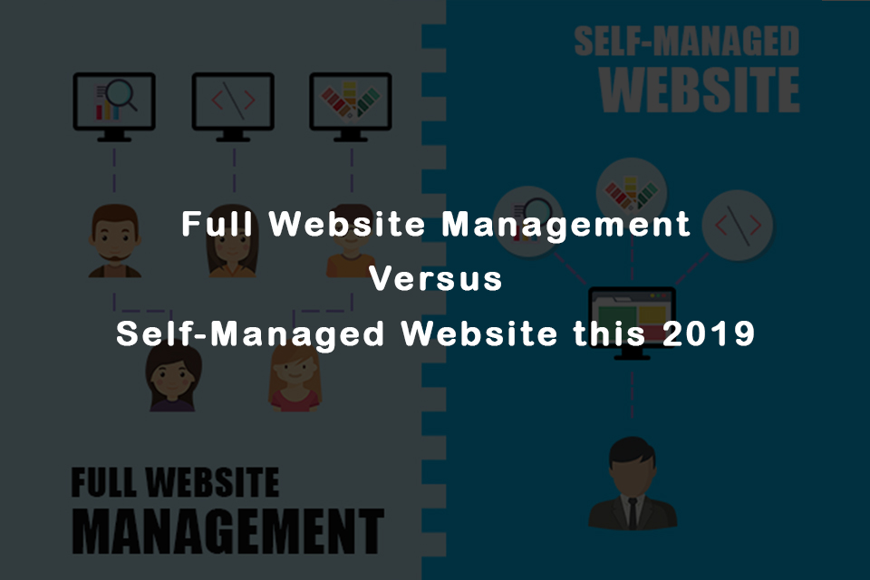Website owners read – Full Website Management Versus Self-Managed Website this 2019